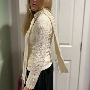 Ted Baker Cashmere Blend Scarf Sweater